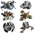 LEPIN Star Wars Nave Espacial Guerra Microfighters Figuras Brinquedos Building Blocks Set Modelo Compatível Com legoeINGly Starwars