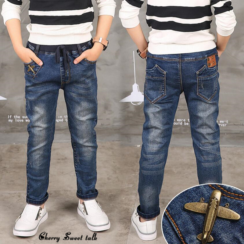 Boy Jeans Limited Loose Solid Casual For Autumn Boys Jeans Children s Fashion Jeans for age