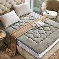 Plegable colchón de felpa gruesa coral velvet tatami colchón individual estudiante niños antideslizantes doble caliente suave ropa de cama de cama