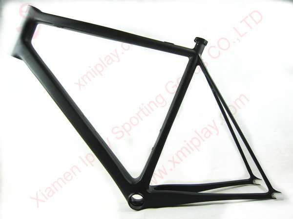 Free Shipping BB79 Carbon Fixie Bicycle Frames 700c Carbon Track Frame Fixed Gear Carbon Frame Fork UD Matt