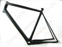 Free shipping BB79 carbon fixie bicycle frames 700c carbon Track frame fixed gear carbon frame fork UD matt
