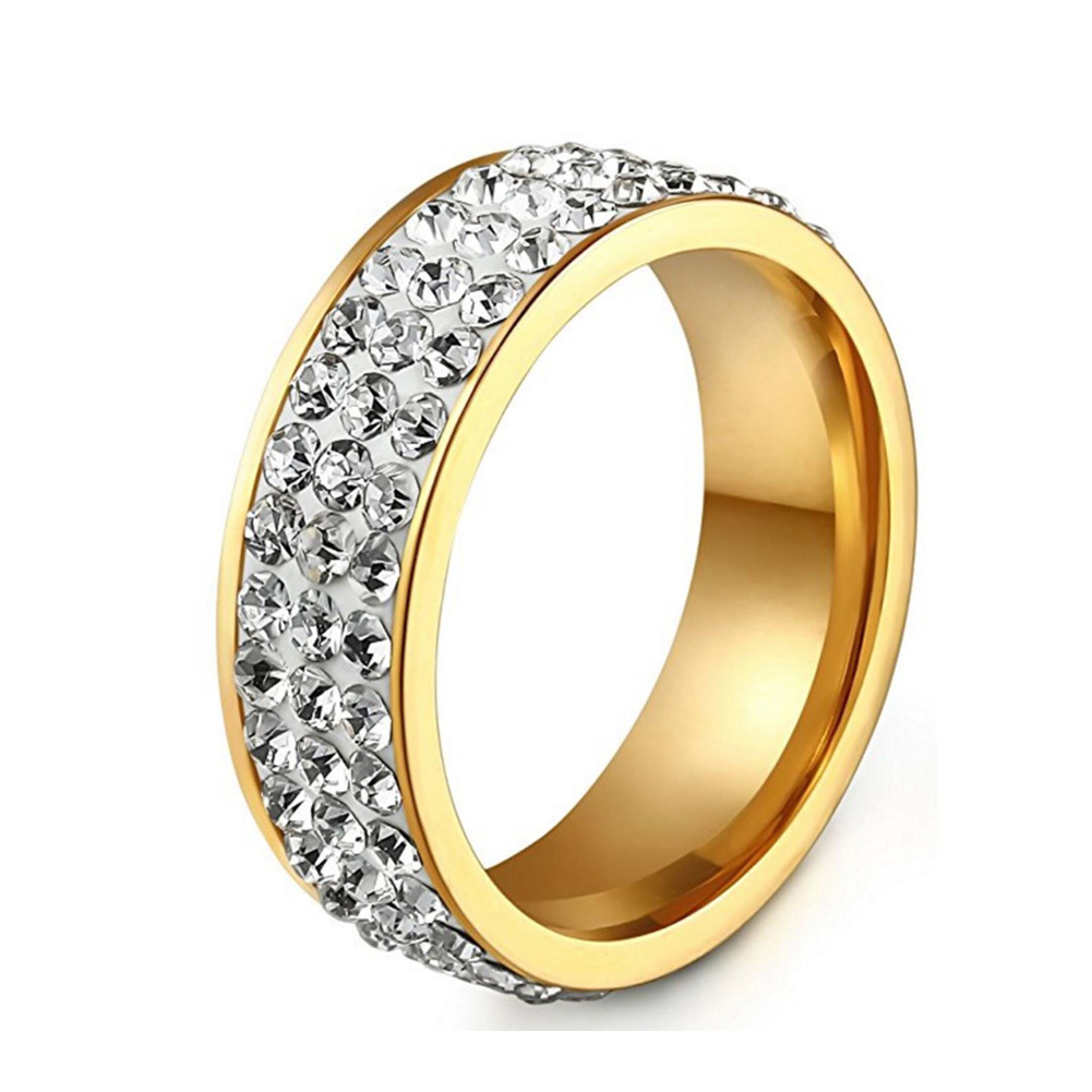 2019 Hot Sale Fashion Stainless Engagement Rings Promise