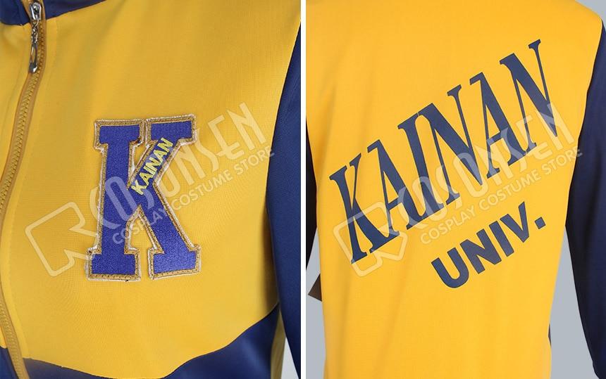 COSPLAYONSEN Slam Dunk Kainan University Affiliated High School Nobunaga Kiyota Cosplay Costume Sport Uniform Pakistan