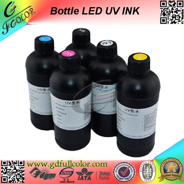 500 мл Любой Цвет UV LED чернила для мягкой PU/pet/PC/гибкие Пластик Простыни печати чернила