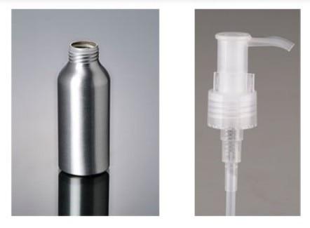 300 шт./лот Ёмкость 100 мл Электрический алюминиевый бутылка с насос косметическая упаковка LD02-1