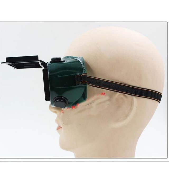 e431edb7b169c Virar para cima Lente Olho Óculos de solda, óculos de proteção, respirável,  durável