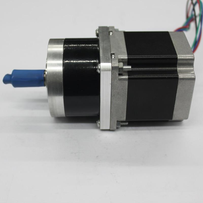 57BYG56 Common Planetary reducer stepper motor Torque 1.2Nm reduction-gear ratio 1:3.6 1 16 nema23 stepper motor planetary reduction ratio 16 1 planet gearbox 57 motor speed reducer high torque high quality