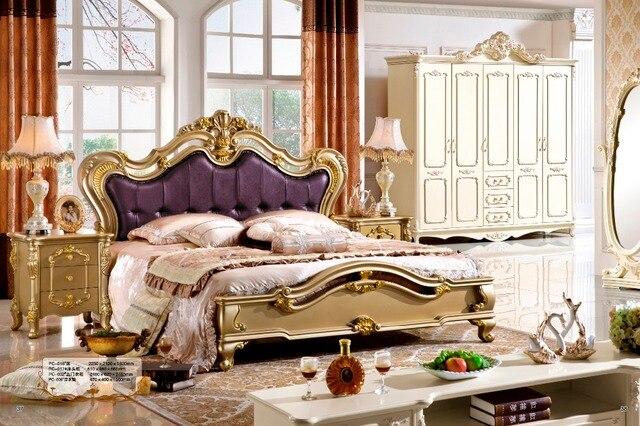 Camera da letto mobili classici, letto singolo, super letto singolo ...