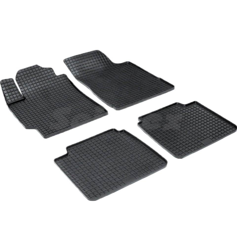 For Toyota Camry 40 2006-2011 rubber grid floor mats into saloon 4 pcs/set Seintex 00239 gdw az4 universal male to male dupont cables set for arduino black 22 5cm 40 pcs