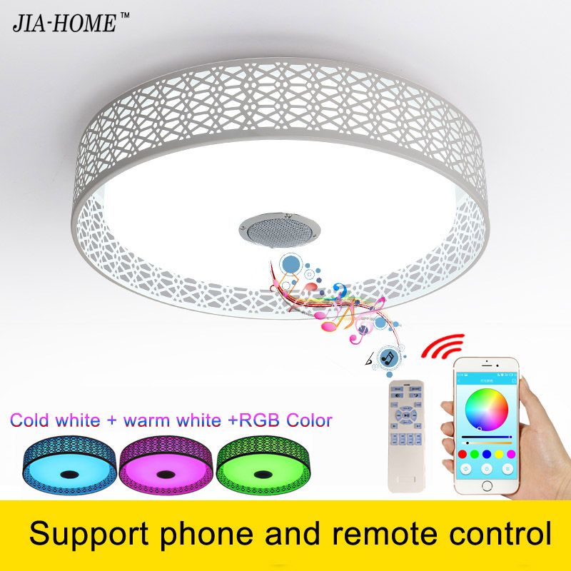 kids room led lamp for ceiling with Bluetooth speaker or remote control dome 36W led ceilng light Acrylic and Aluminum keyshare dual bulb night vision led light kit for remote control drones