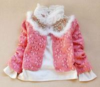 бесплатная доставка новинка стиль по уходу за детьми девушки одежда / kruger комплект юбки весна и осень хлопок 3 шт. пальто + юбка + рубашка