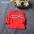 2017 Children Clothing Boy Bamboo Wool Bottoming Shirt Spring And Autumn Long Sleeves New Kids Fashion T-shirt