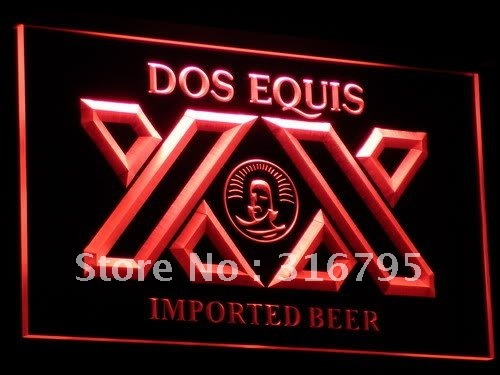 a042 Dos Equis Beer Bar Pub Restaurant Neon Sign with On/Off Switch 7 Colors to choose