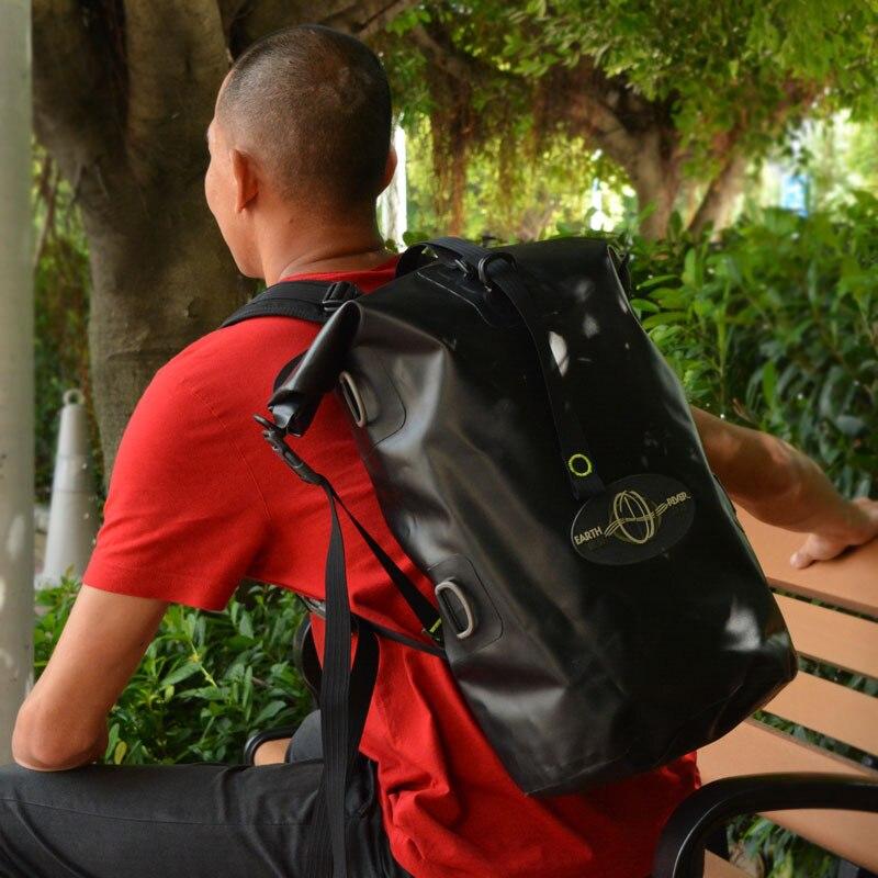 Large Capacity PVC Waterproof Dry Bags Outdoor Camping Hiking Backpack - Selinashops store