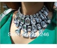акрил ожерелье винтажный белый акрил воротник ожерелье ювелирные изделия
