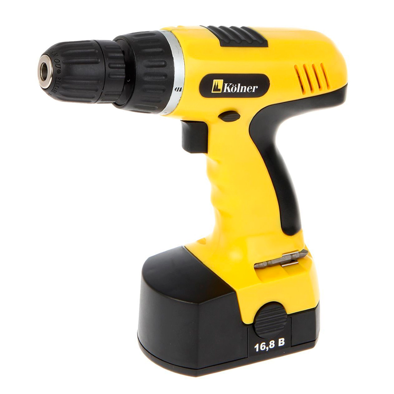 Drill driver battery Kolner KCD 168 seconds