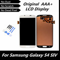 100% probado LCD pantalla para Samsung Galaxy S4 con pantalla táctil digitalizador asamblea para i9500 i9505 i337 pantalla LCD con herramientas