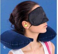 3 в 1 комплект Dora НД шеи воздушной НОК подушки + маска для глаз + 2 плагин удобств комплект HA 0257