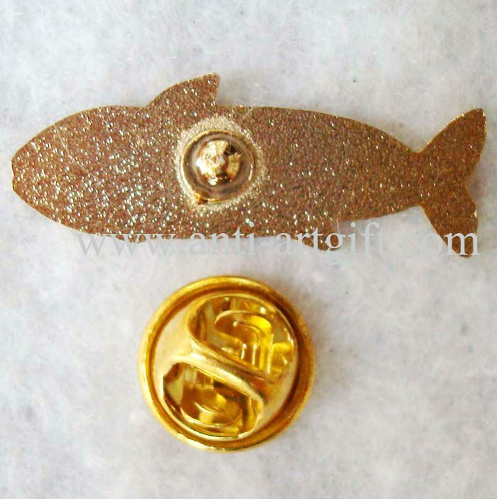Пользовательские Мягкие Твердые эмаль Акула ремесло нагрудные значки 28 мм золото металлическая рыба твердая эмаль ремесло подарки park n's park