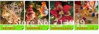 красивая 2.1 м цветовой гаммы пвх рождественская елка рождественские украшения супер дерево