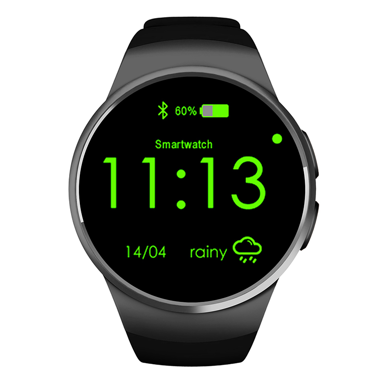 Original KW18 Smart Watch SIM MTK2502c font b Smartwatch b font Bluetooth Android ios Smart Watches