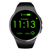 Original KW18 Smart Watch SIM MTK2502c Smartwatch Bluetooth Android ios Intelligente Uhren Für Apple Samsung Moto 360 Telefon PK K88H