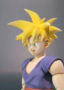 "Image 2 - 100% Original BANDAI Tamashii Nations S.H.Figuarts (SHF) Action Figure   Super Saiyan Son Gohan from ""Dragon Ball Z"""