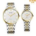 Luxury Brand Eyki Men Quartz Watch Business Roman Numerals Stainless Steel Wristwatches Male Table Dress Clock Relojes Hombre