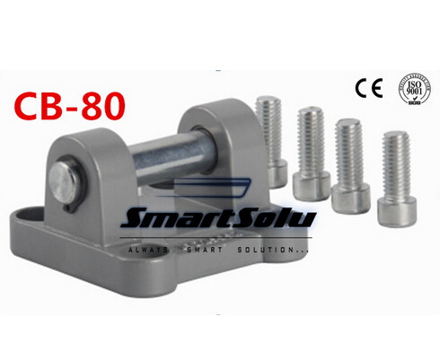 все цены на Free Shipping 5pcs/lots cylinder accessories CB-80, ears installation pieces, SNCB - 80, DNC, SE, SI cylinder accessories онлайн
