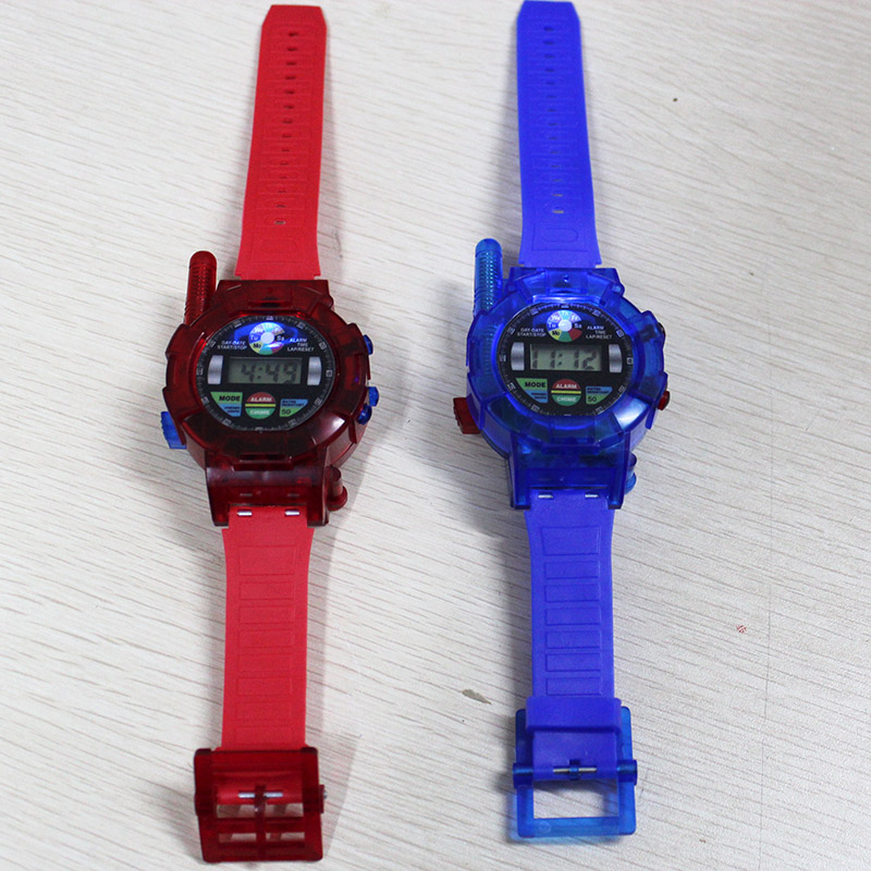 Children's Watch Walkie Talkie Toy Wrist Watch Two Way Radio For Kids Interesting Electronic Toys For Boys And Girls Red & Blue