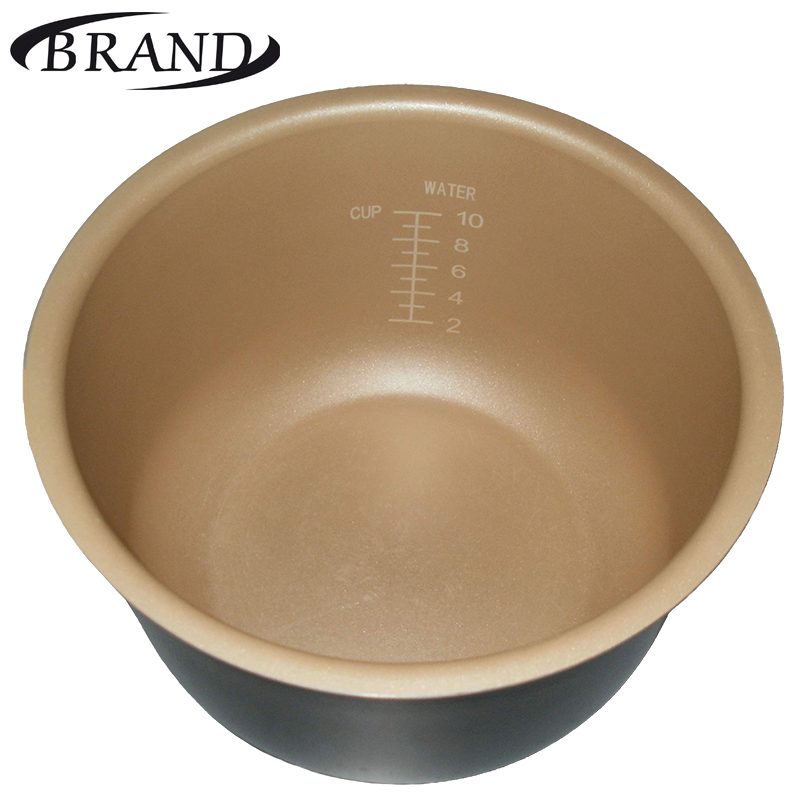 Inner pot BRAND37501 bowl pan for multivarka, non stick coating, 5L, measure scale, yellow color c key 25 pipes pan flute gold color music instruments chinese good quality handmade woodwind instrument pan pipes