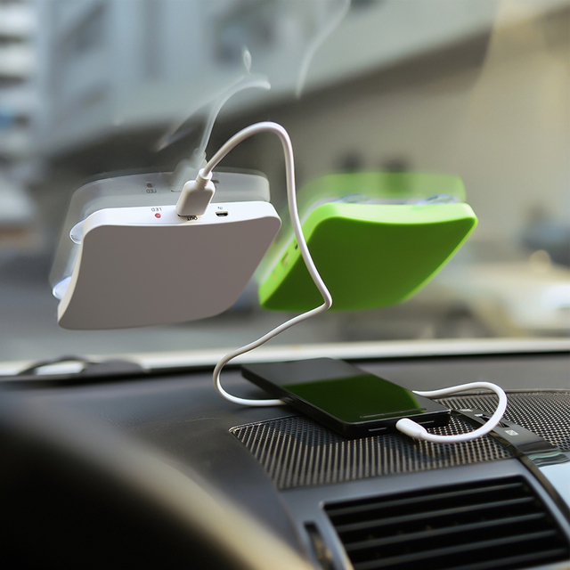 Window Solar Mobile Charger w/ power bank - perfect car accessory