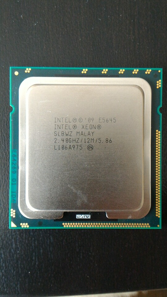 Intel SLBWZ Xeon E5645 2.40GHz Hexa-Core LGA-1366 Processor