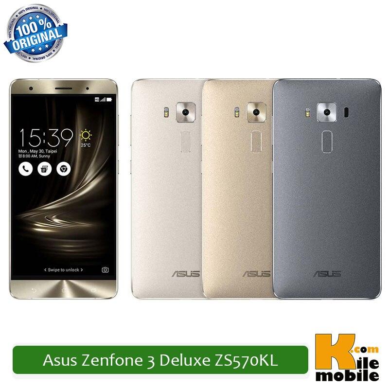 """bilder für Original Asus Zenfone 3 Deluxe ZS570KL 5,7 """"23MP 6 GB RAM Snapdragon 820 64 GB/256 GB Dual Sim 4G Smartphone"""