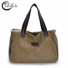 Casual Men and Women Large Capacity Shoulder Bag W329 High Quality Canvas Bag Unisex Business Travel Messenger Bag Handbags