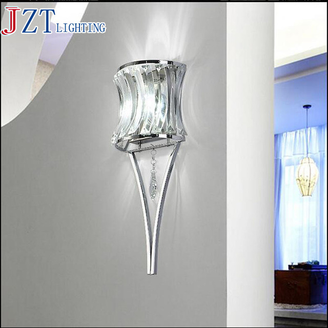 Quality Bathroom Lighting aliexpress : buy m modern creative led crystal wall lamp