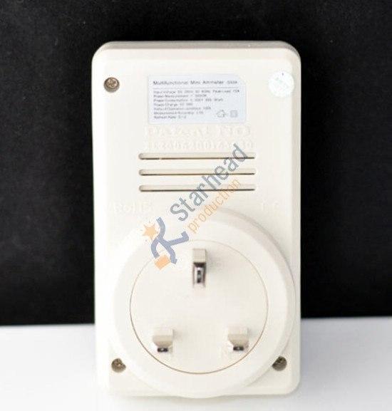 Мини-измеритель мощности ватт мониторинг электричества энергопотребление измеритель напряжения переменного тока, Стандарт штепсельной вилки Великобритании