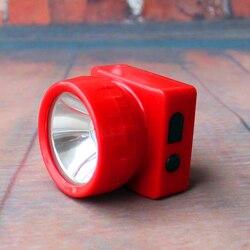 Free Shipping 1W 3000mAh Li-ion Red 6+1 LED Professional Lighting Coreless Mining Headlamp Camping lamp Rechargeable LD-4625