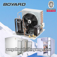 R404a 0 75HP Air Cooled Refrigeration Compressor Unit For Cold Room