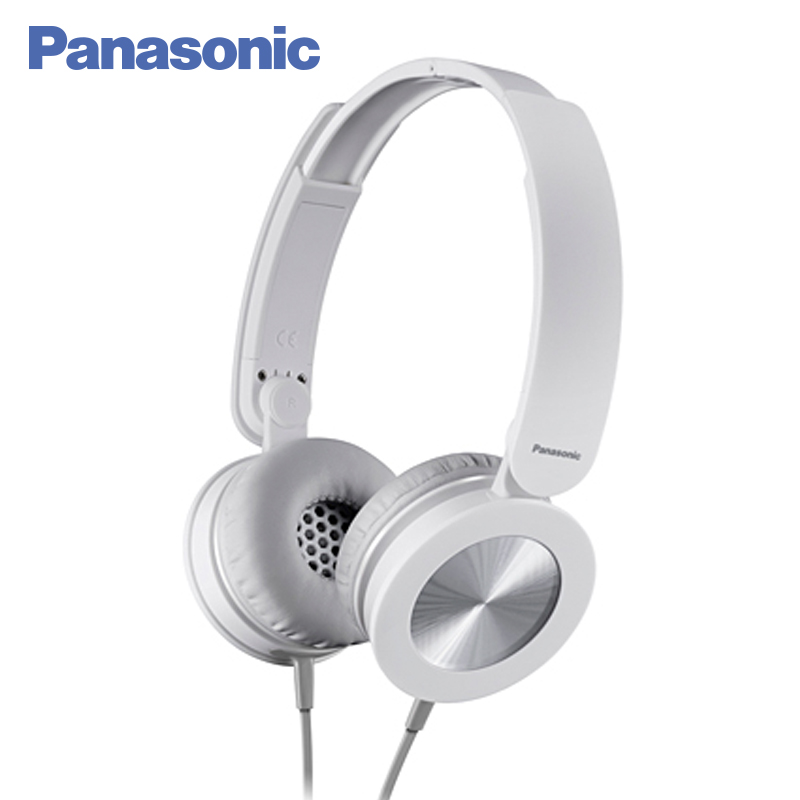 Panasonic RP-HXS220E-W Earphone wired noise cancelling HIFI sound headphones stereo headset panasonic rp tcm50e k in ear headphones microphone and remote control compatible with smartphone clear bass sound custom design