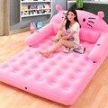 Складная кровать с рисунком Тоторо со спинкой  надувной матрас  мягкая кровать  матрасы  мебель для спальни  бесплатная доставка