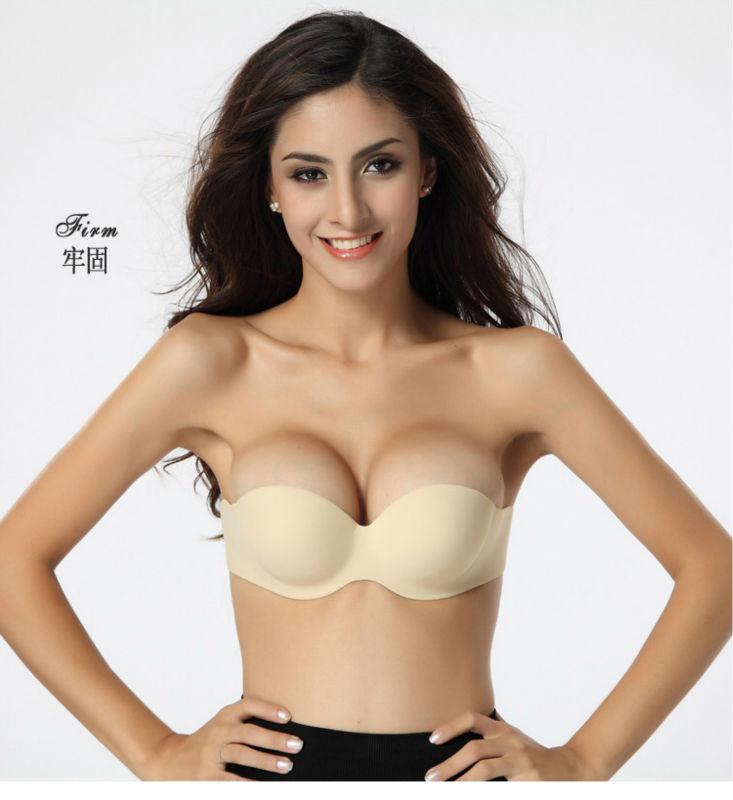 Free Shipping Hot  Cotton Strapless Seamless Invisible Bra Sex Bra Push Up Bra In Bras From Underwear Sleepwears On Aliexpress Com Alibaba Group