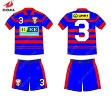 e2543514ad4 Hot sale 2019 zhouka Latest short Sleeve Lapel Collar Badminton Jerseys  Customized Children Football Jerseys Men