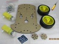 1 шт. салона автомобиля шасси робота мотор-редуктор шин Teacher энкодера + код