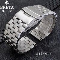 Hommes de quartz | mécanique montre accessoires solide bracelet en acier inoxydable boucle forDiesel montre DZ7264 | 1580 noir argent 24 26mm