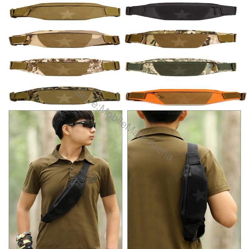 Universal Waterproof Military Tactical Molle Waist Mobile Phone Case Bum Bag,Army Camo Pack Belt Fanny Pouch Cover For Iphone Lg iphone xs 財布