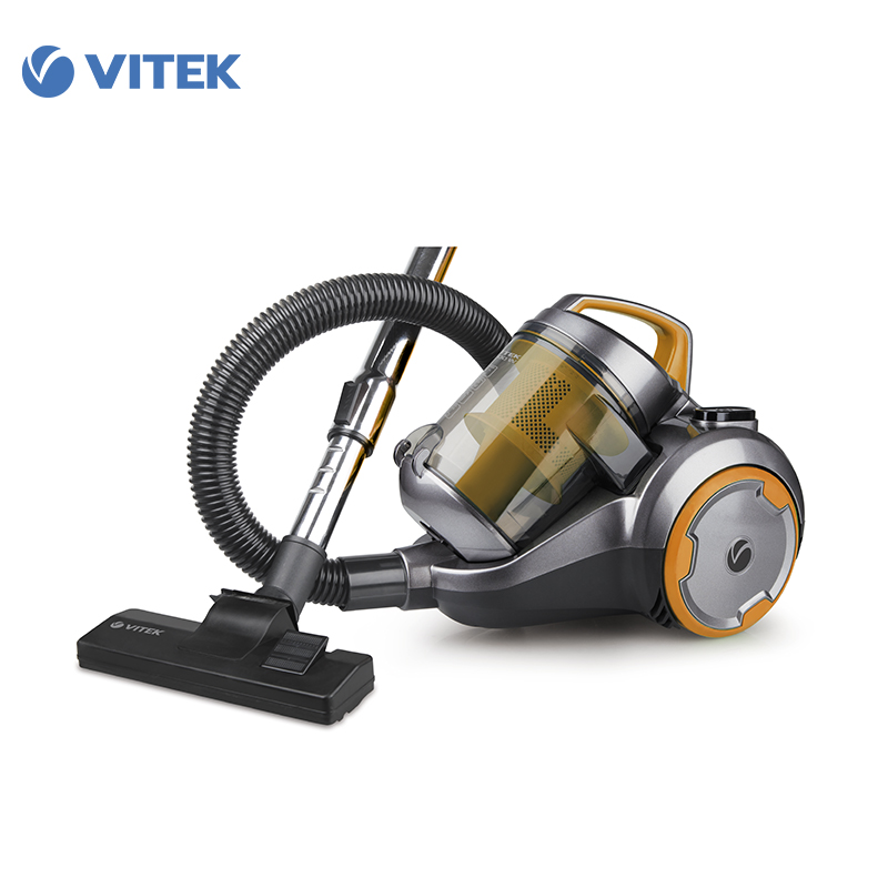 Vacuum Cleaner Vitek VT-1894 for home cyclone Home Portable household dustcontainer cleaners for home canister vacuum cleaner for home puppyoo p9 aspirator powerful suction 2200w cyclone portable household cleaning appliances