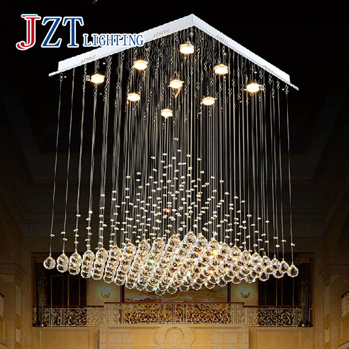 M Best Price Brief Modern Pyramid Crystal Pendant Light Living Room Lights Restaurant Lamp LED Decorative  80cm*80cm 2016 new luminaire lamparas pendant lights modern fashion crystal lamp restaurant brief decorative lighting pendant lamps 8869