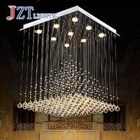 M Best Price Brief Modern Pyramid Crystal Pendant Light Living Room Lights Restaurant Lamp LED Decorative 80cm*80cm