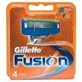 Casete extraíble cuchillas cuchilla de afeitar para hombre de afeitar maquinillas de afeitar gillette fusion 4 unid.
